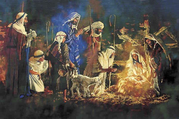 shepherds and christ birth